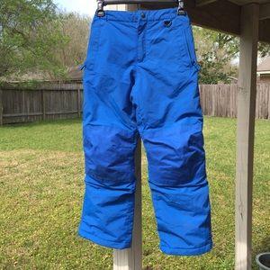 Lands end Kids Blue Ski Pants